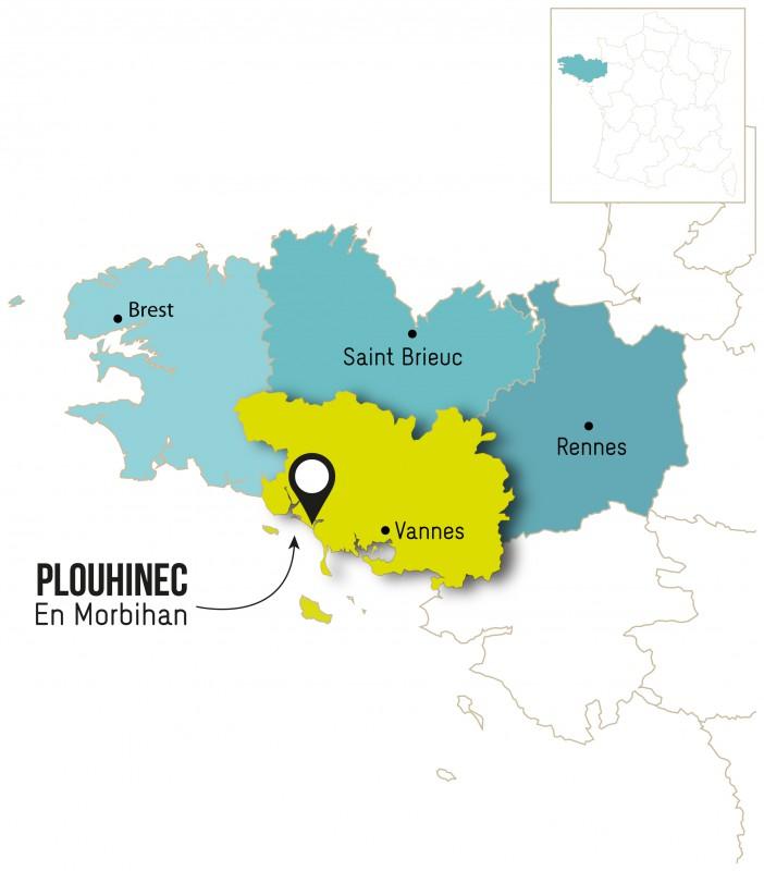 Carte Bretagne Plouhinec.Comment Se Rendre A Plouhinec Plouhinec